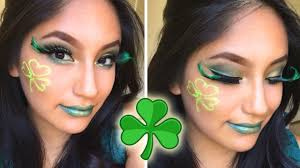 2017 st patricks day makeup tutorial