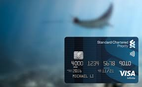 standard chartered bank credit card