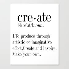 create quote print artist gift
