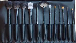 badger and nylon makeup brush sets