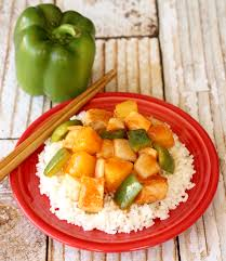 slow cooker sweet and sour en recipe