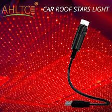 1X Xe Led USB Ngôi Sao Âm Trần Đêm Đèn Chiếu Laser Led Trang Trí Bầu Không  Khí Mái Đầy Sao Mái Vòm Phòng Nhà kiểu Dáng Xe 