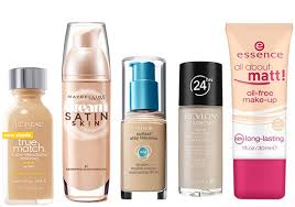 remended makeup brands for oily skin