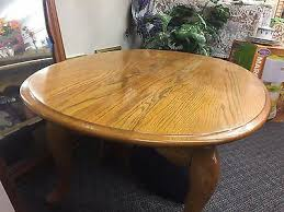 solid oak coffee table raymour and