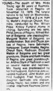 Hilda Young Obituary - Newspapers.com