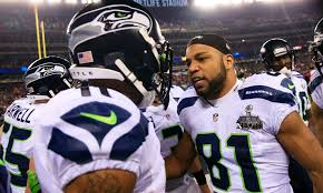 Giants' Golden Tate denies Percy Harvin's pre-Super Bowl fight story