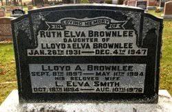 Lucy Elva Smith Brownlee (1894-1976) - Find A Grave Memorial