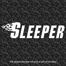 Sleeper Vinyl Decal Sticker Hot Rod Truck Modified V8 Performance Muscle Street Hot Rod Trucks Vinyl Decal Stickers Vinyl Decals