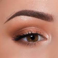 simple natural makeup for brown eyes
