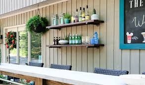 9 easy outdoor bar ideas on a budget