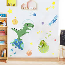Dinosaur Air Space Kids Room Wall Stickers Gallery Wallrus Free Worldwide Shipping