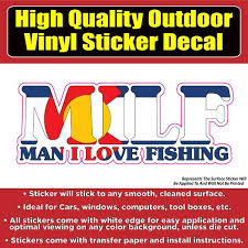Milf Funny Colorado Flag Fishing Vinyl Car Window Laptop Bumper Sticke Colorado Sticker