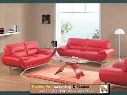 leather sofa red romance