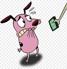 courage the cowardly dog png image with