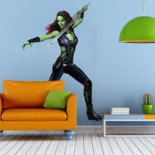 Shop Girl Sword Warrior Full Color Wall Decal Sticker K 1019 Frst Size 33 X40 Overstock 21140731
