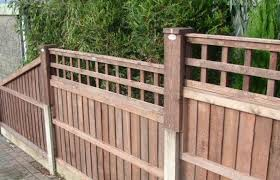 intermediate fence post extension