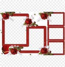 wedding collage frames png image with