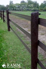 Shockline Adds Electricity To Your Flex Fence System Horse Fencing Pasture Fencing Horse Farm Ideas