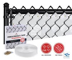 Awesome Fence Privacy Tape For Chain Link Fences By Fenpro Fence Weaving Chain Link Fence Privacy Fence Slats