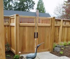 Fence Gate Design Ideas By Wooden Wilson Rose Garden