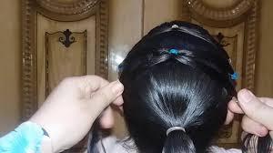 تسريحه شعر سهله وجميله جدا للأطفال فى العيد Youtube
