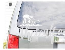 Luke I Am Your Father Vinyl Decal Car Window Bumper Sticker Star Wars
