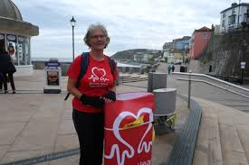 Cromer councillor hikes for disease research after husband's heart attack |  North Norfolk News