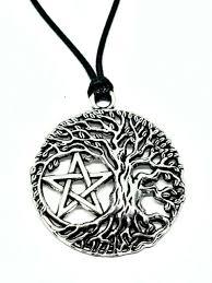 pentacle pentagram tree of life pendant
