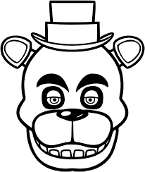 Amazon Com Five Nights At Freddy S Die Cut Vinyl Decal White Sticker 7 Width By 8 Height Sports Outdoors