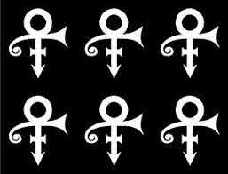 Prince Love Symbol Vinyl Decals Laptop Phone Small Stickers Set Of 6 Ebay