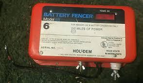 Fencing Hol Dem Electric Fence Controller