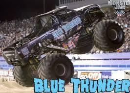 blue thunder monster truck
