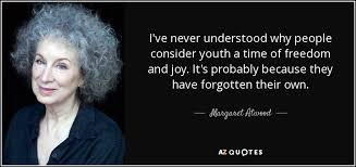 margaret atwood quote i ve never understood why people consider