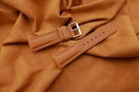 23mm 20mm genuine epsom leather watch