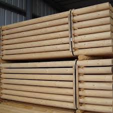 Lodgepole Round Stock Wood Fence Posts North Idaho Post Pole