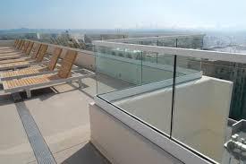glass railings free standing glass
