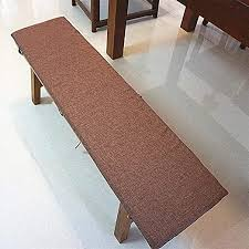 bench cushion classic embroidery pad