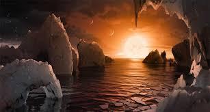 NASA descubrió un sistema planetario a 40 años luz de la Tierra ...