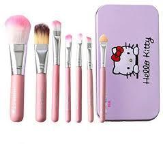 o kitty mini makeup brush set