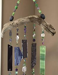 glass sun catcher wind chimes