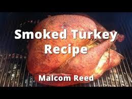 smoked turkey recipe how to smoke a