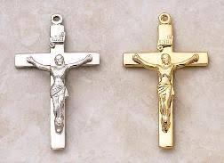 catholic jewelry and crucifix necklace