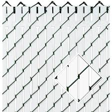 Pexco Chain Link Fence Screens At Lowes Com