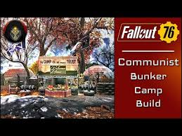 Fallout 76 Communist Bunker Camp Camp Building Tutorial Youtube
