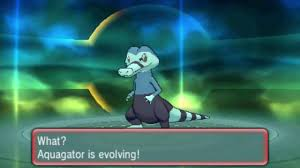AQUAGATOR EVOLVES IN POKEMON SUN & MOON??? NEW POKEMON EVOLUTION ...