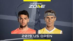 2019 US Open – Matteo Berrettini vs Rafael Nadal Preview & Prediction - The  Stats Zone