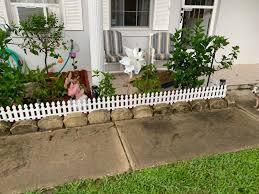 6 Ft Solar Border Picket Fence Panels Ltd Commodities