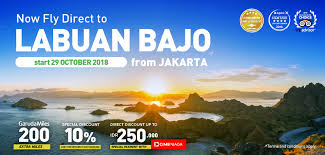 Reguler Flight to Labuan Bajo