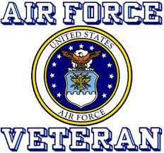 Amazon Com United States Air Force Veteran Car Decal Us Military Gifts Usaf Products Clothing
