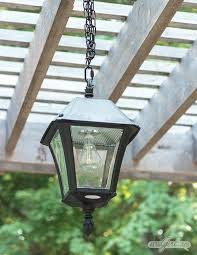 solar chandelier for your pergola